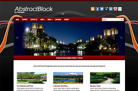 abstractblack-wordpress-theme