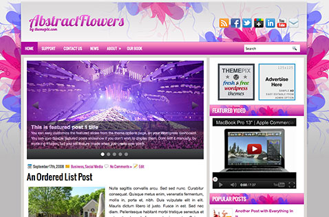 abstractflowers-wordpress-theme