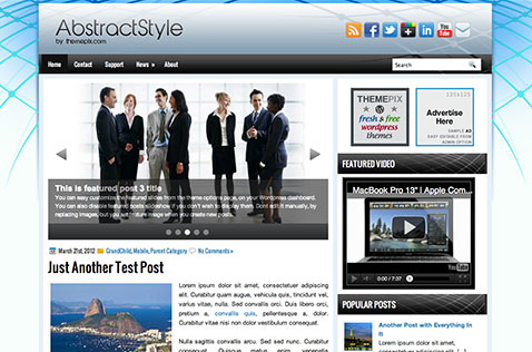 abstractstyle-wordpress-theme