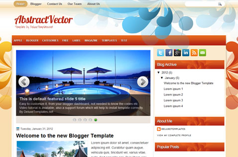 abstractvector-blogger-template