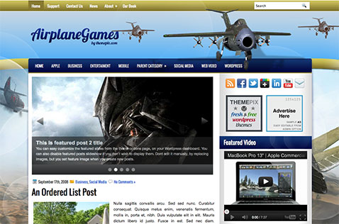 airplanegames-wordpress-theme