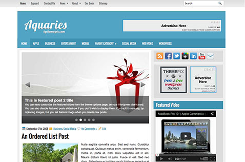 aquires-wordpress-theme