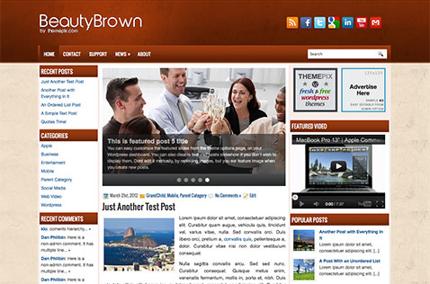 beautybrown-wordpress-theme