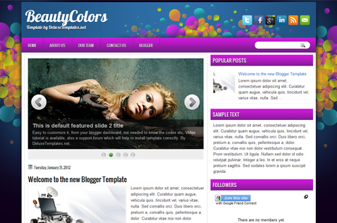 beautycolors-blogger-template
