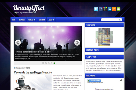beautyeffect-blogger-template