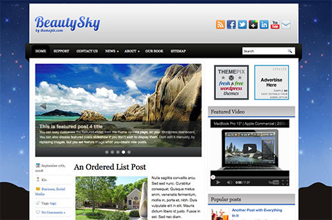 beautysky-wordpress-theme