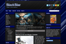 blackblue-blogger-template