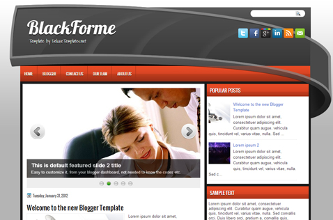 blackforme-blogger-template