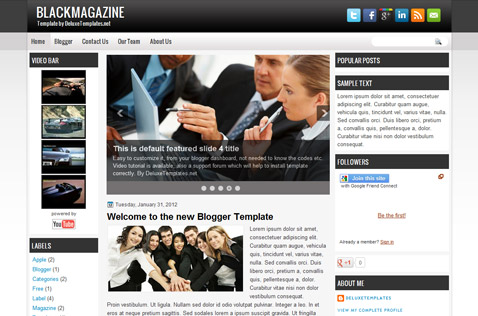 blackmagazine-blogger-template