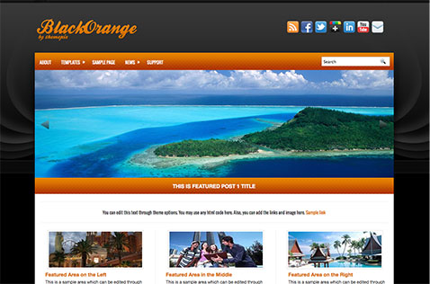 blackorange-wordpress-theme