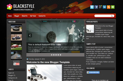 blackstyle-blogger-template