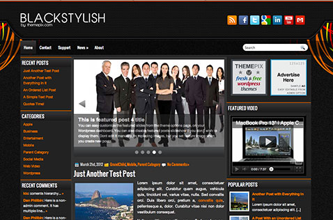 blackstylish-wordpress-theme