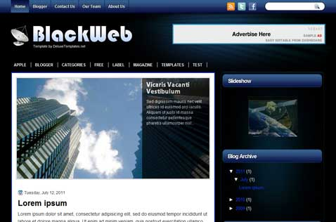 blackweb-blogger-template