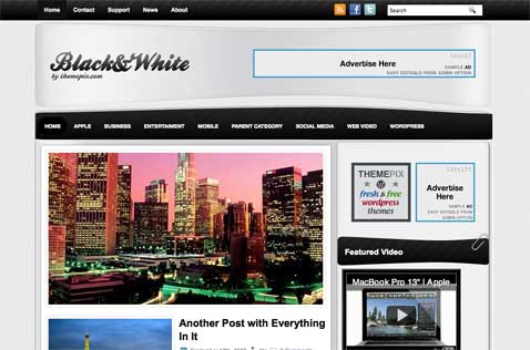 blackwhite-wordpress-theme
