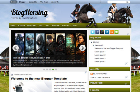 bloghorsing-blogger-template