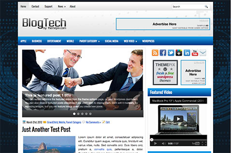 blogtech-wordpress-theme