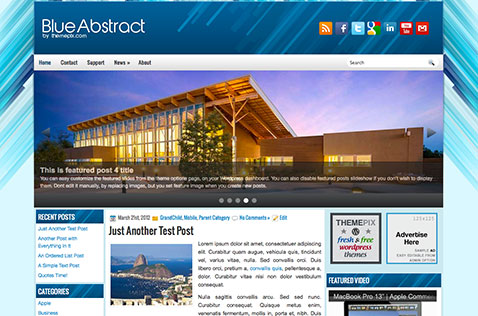 blueabstract-wordpress-theme