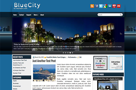 bluecity-wordpress-theme