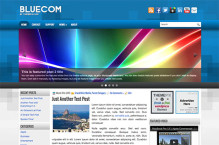 bluecom-wordpress-theme