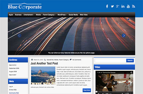 bluecorporate-wordpress-theme