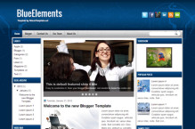 blueelements-blogger-template
