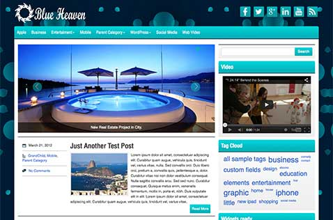 blueheaven-wordpress-theme