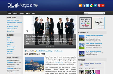 bluemagazine-wordpress-theme