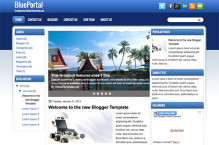 blueportal-blogger-template
