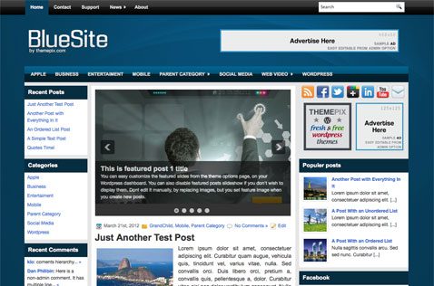 bluesite-wordpress-theme