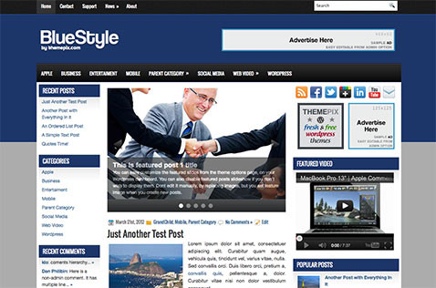 bluestyle-wordpress-theme