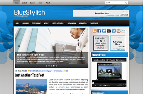 bluestylish-wordpress-theme