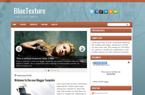 bluetexture-blogger-template