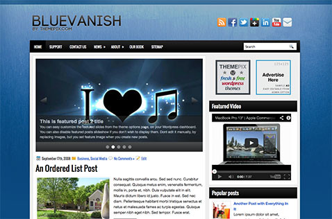 bluevanish-wordpress-theme