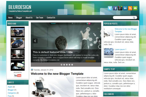 blurdesign-blogger-template