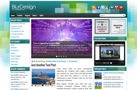 blurdesign-wordpress-theme