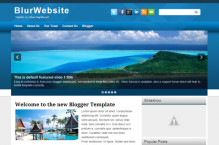 blurwebsite-blogger-template