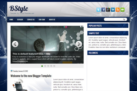 bstyle-blogger-template