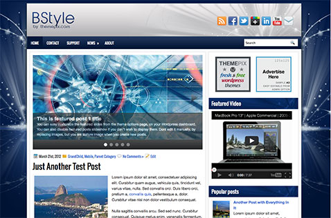 bstyle-wordpress-theme