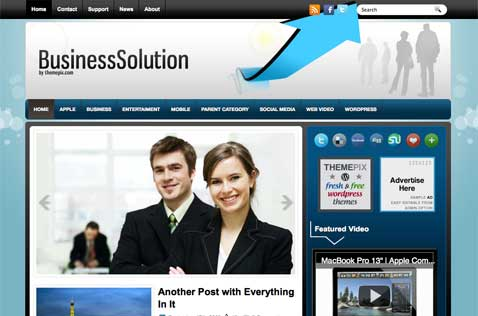businesssolution-wordpress-theme