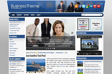 businesstheme-wordpress-theme