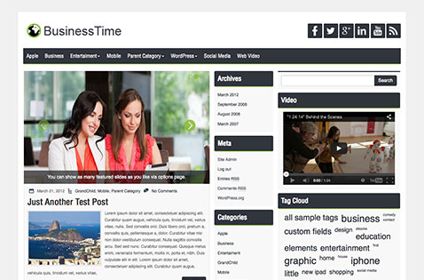 businesstime-wordpress-theme