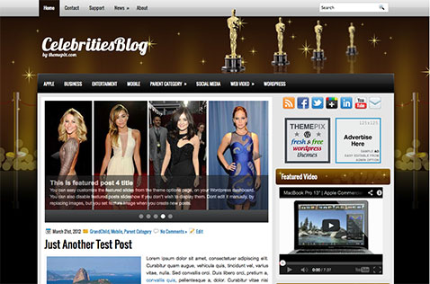 celebritiesblog-wordpress-theme