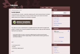 cellulose-bloggertemplates