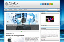 citybiz-blogger-template