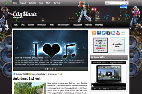 citymusic-wordpress-theme