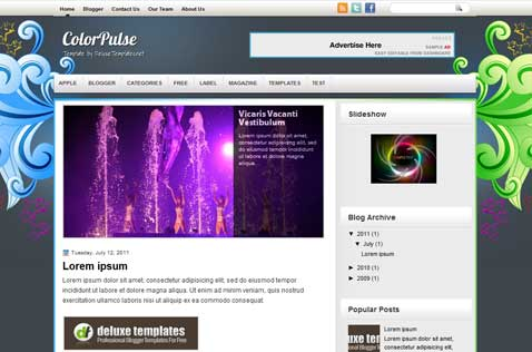 colorpulse-blogger-template