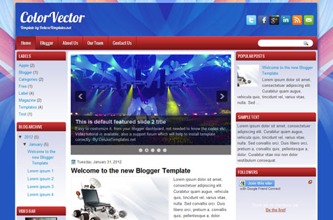 colorvector-blogger-template