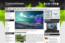 contrastgreen-wordpress-theme
