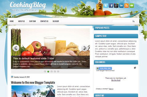 cookingblog-blogger-template