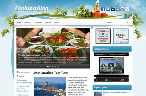 cookingblog-wordpress-theme
